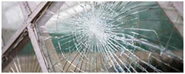 Stevenage Smashed Glass